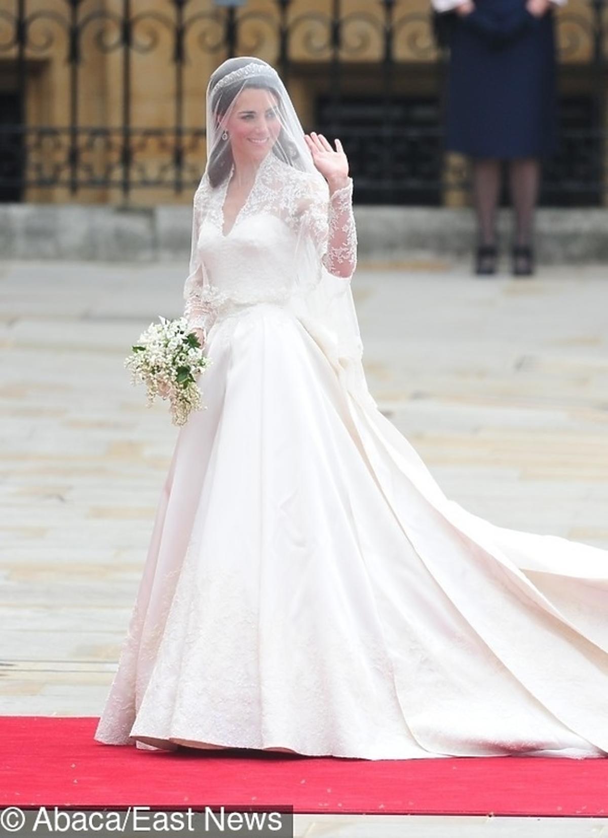 Suknia ślubna Kate Middleton