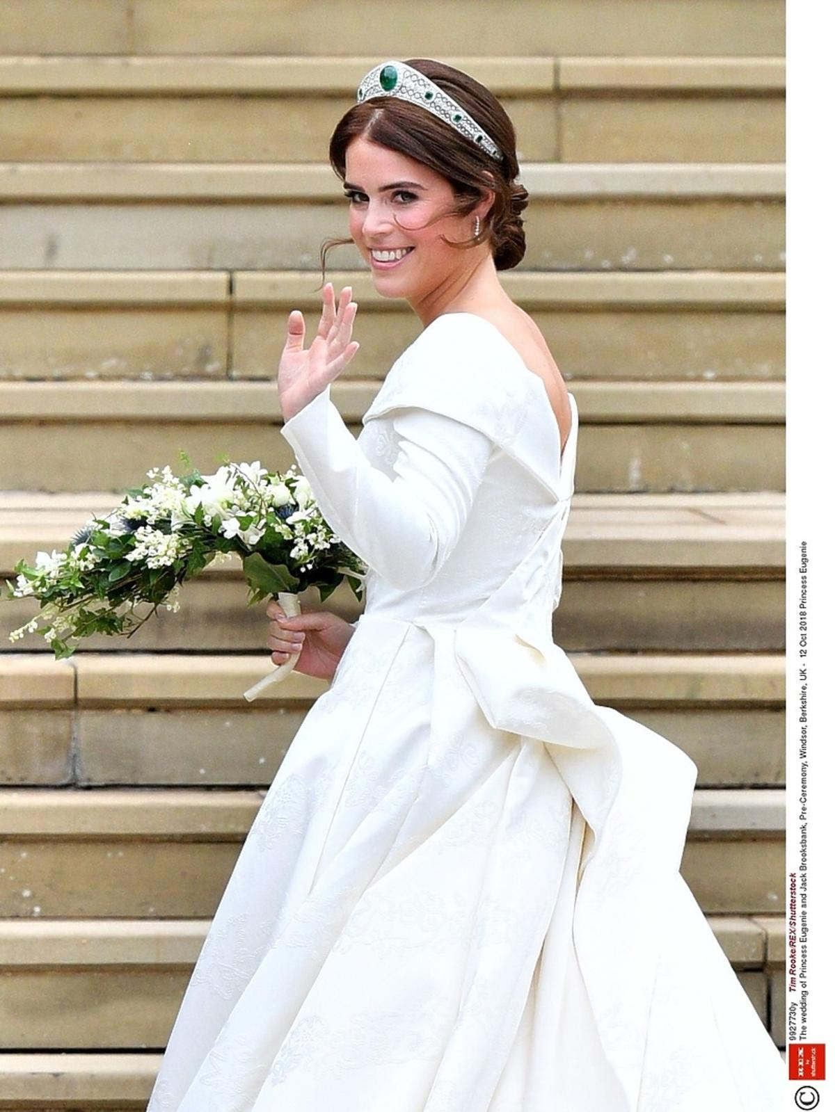 Suknia ślubna księżniczki Eugenii