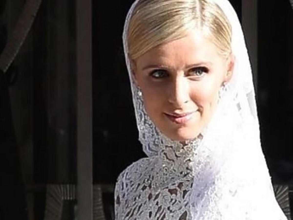 Suknia ślubna Nicky Hilton