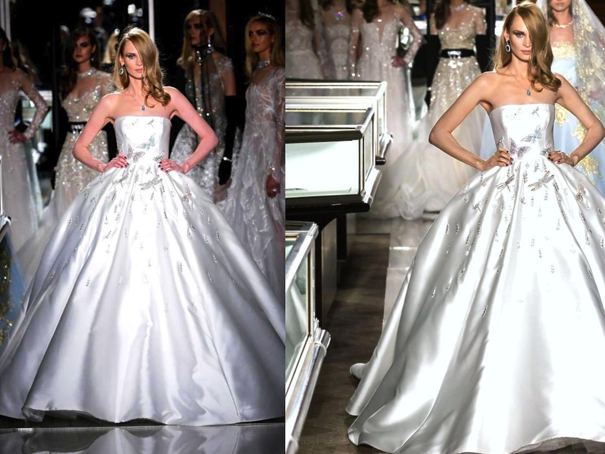 Suknia ślubna Reem Acra