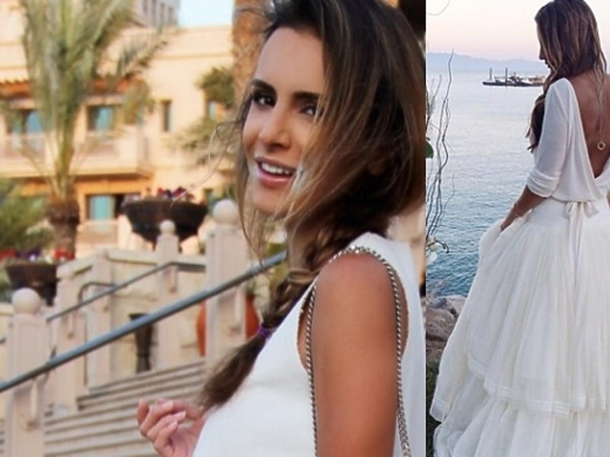Suknia ślubna Sary Mannei