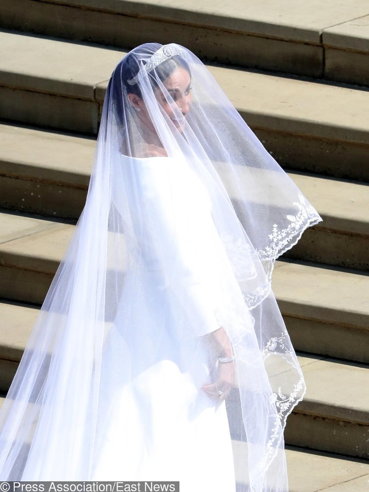 Suknia  śubna Meghan Markle