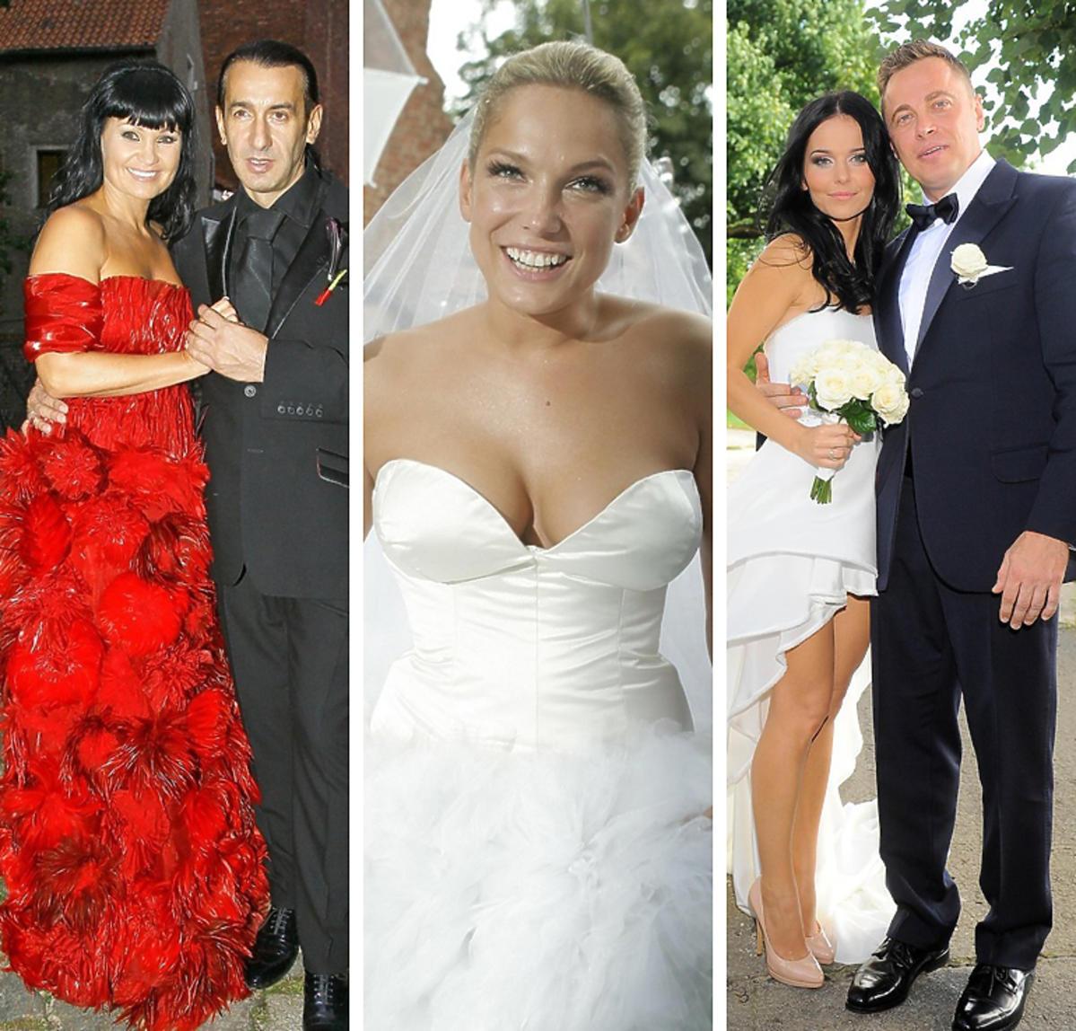 Suknie ślubne gwiazd - najbardziej kontrowersyjne