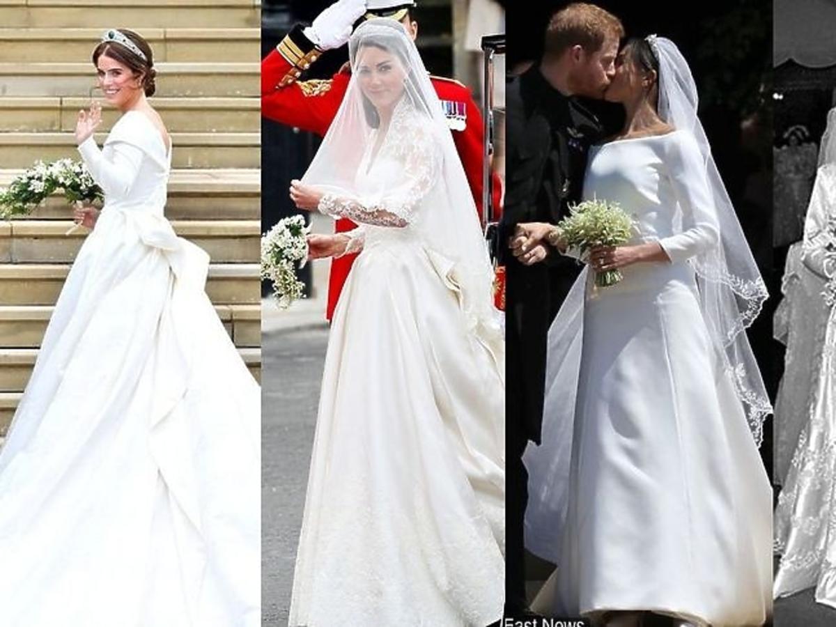 Suknie ślubne w rodzinie królewskiej