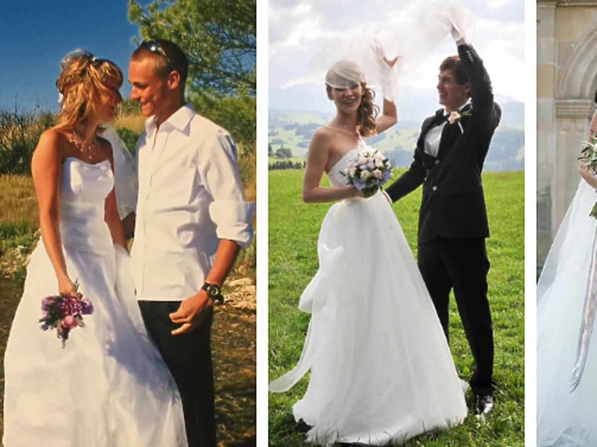 Suknie ślubne żon polskich skoczków