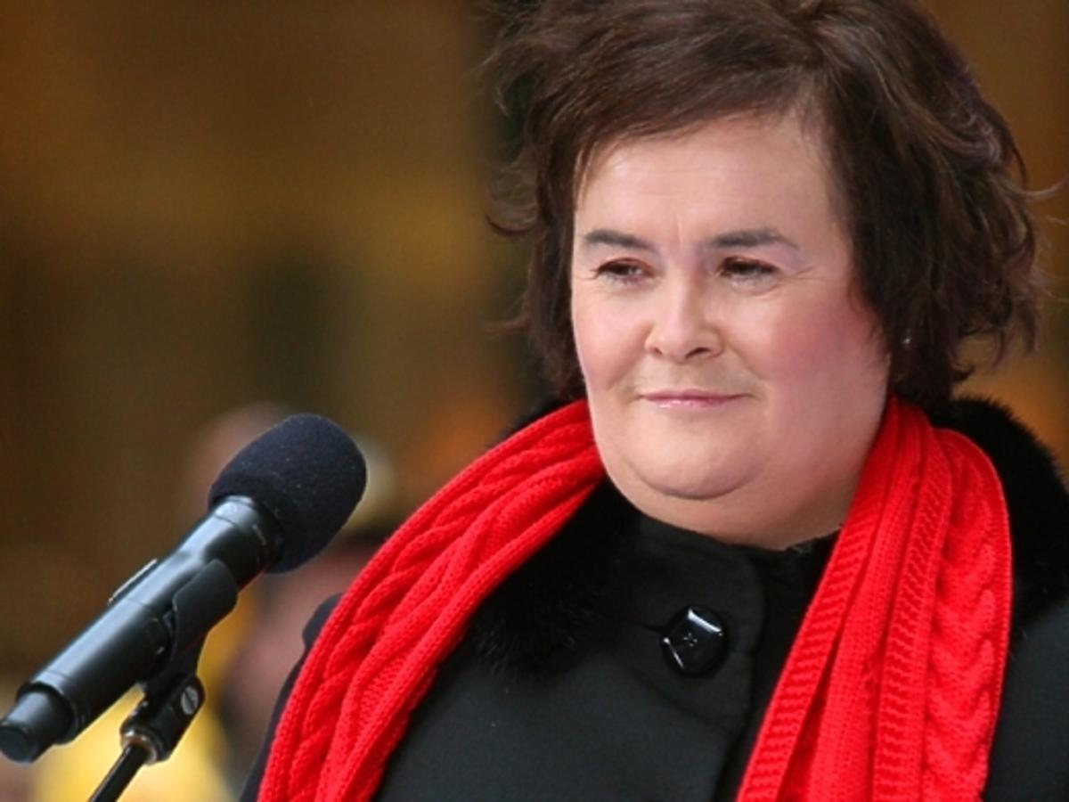 Susan Boyle przyznała się do choroby
