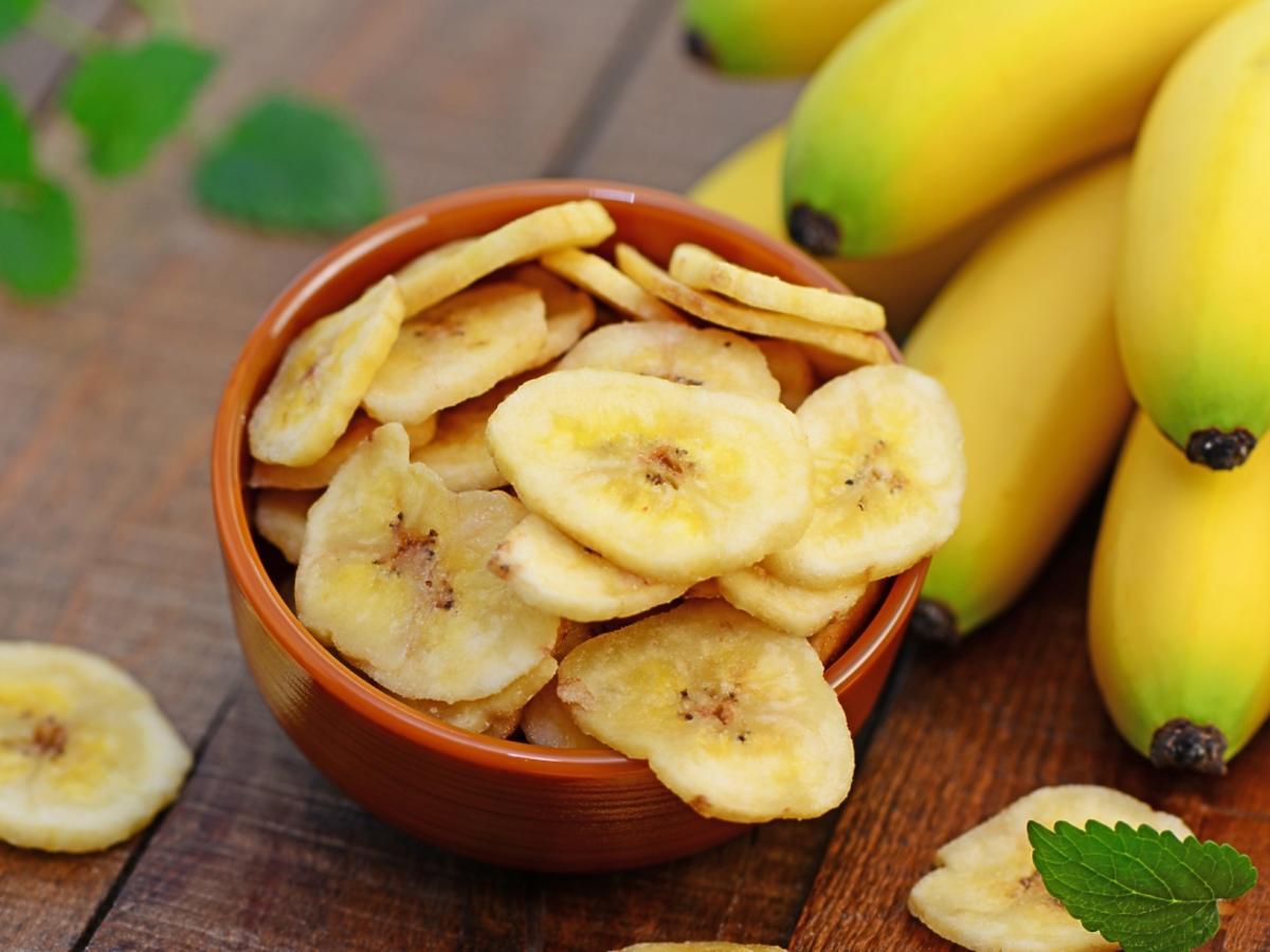 Suszone banany