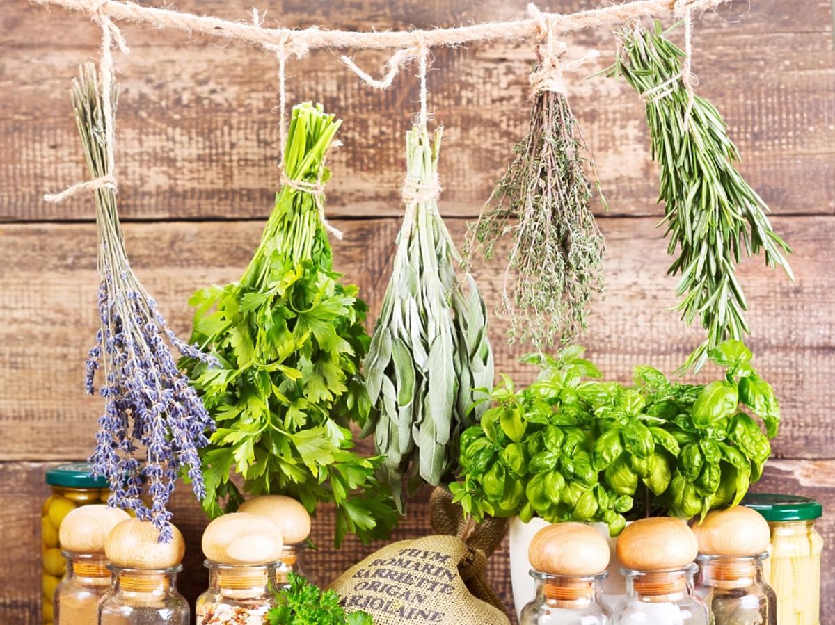suszone zioła
