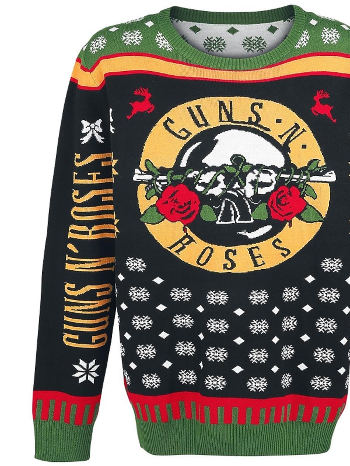 Świąteczny sweter Guns N' Roses, Emp-shop.pl