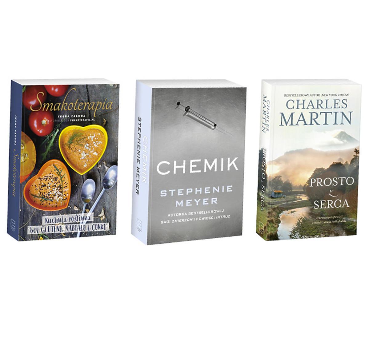 Świetnym prezentem, lub po prostu dodatkiem do większego prezentu, są książki!