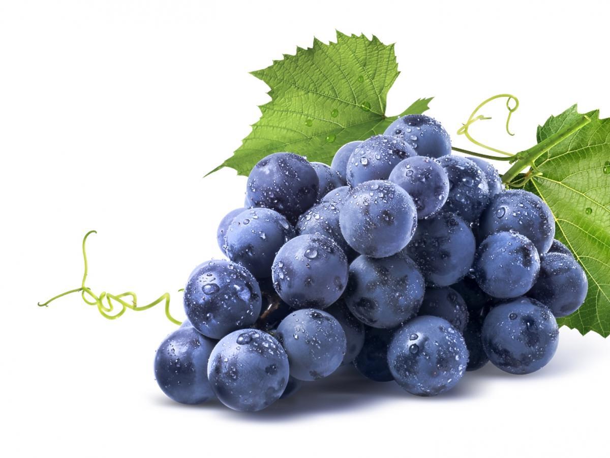 świeże owoce winogrona