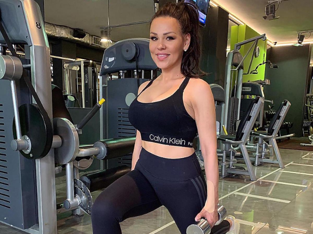 Syliwa Bomba na siłowni