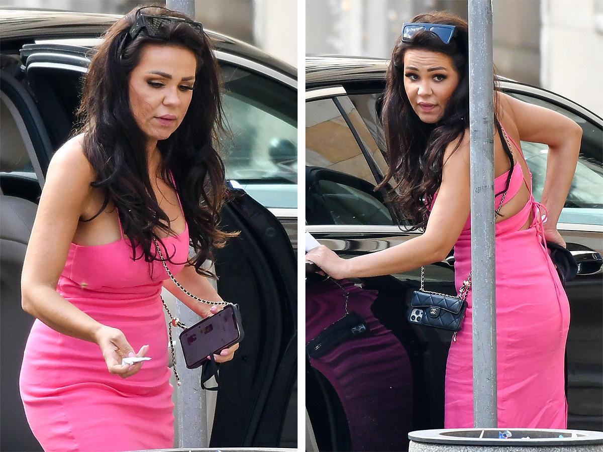 """Sylwia Bomba z """"Gogglebox"""" w różowej sukience na zakupach"""