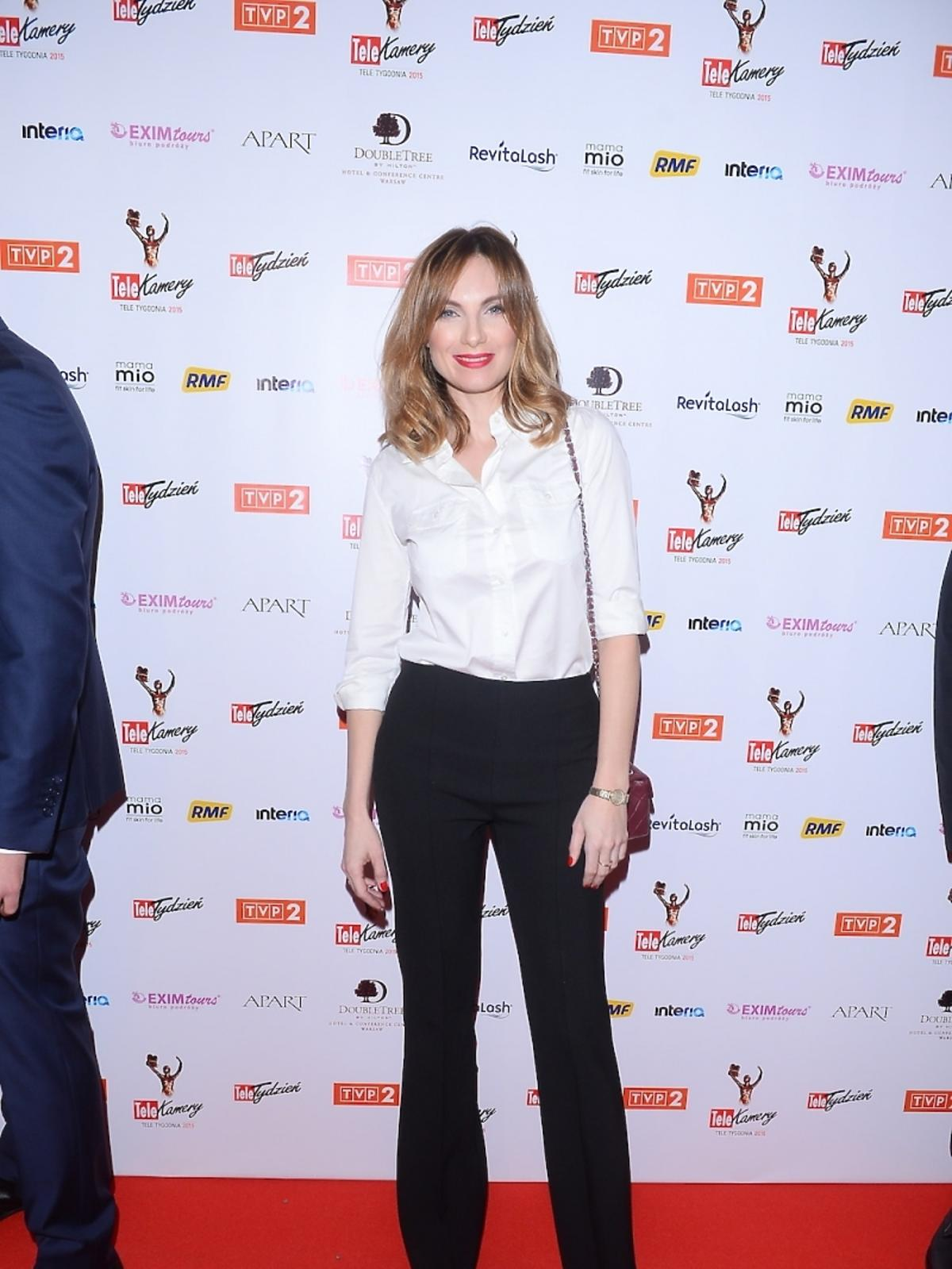 Sylwia Gliwa na gali TeleKamery 2015