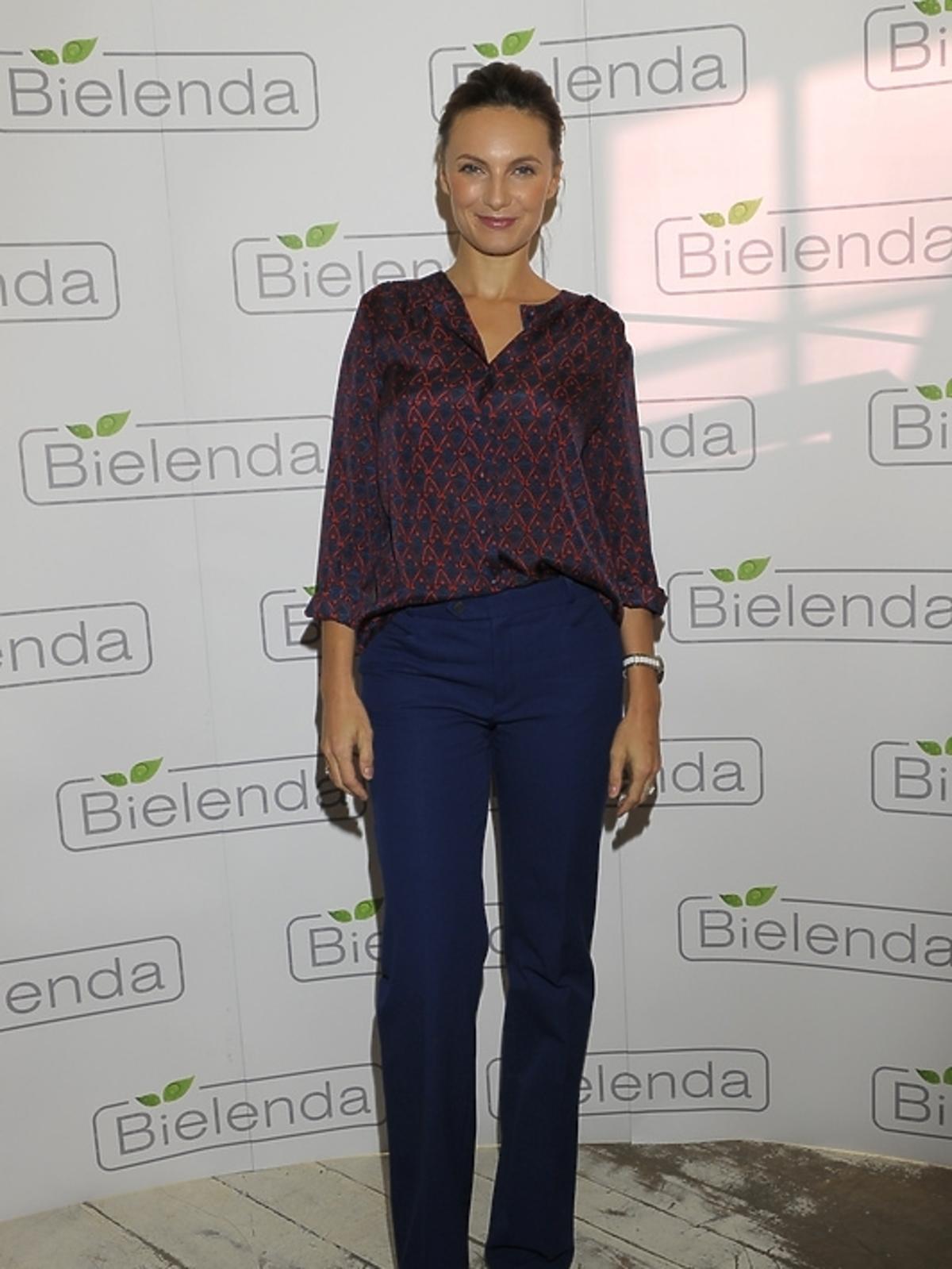 Sylwia Gliwa na prezentacji kosmetyków marki Bielenda
