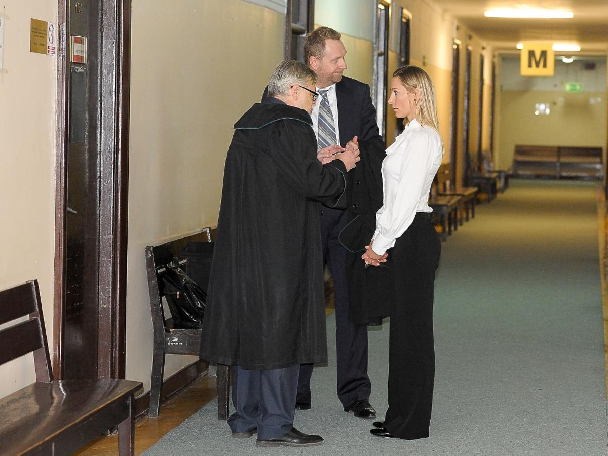 Sylwia Gruchała z prawnikiem