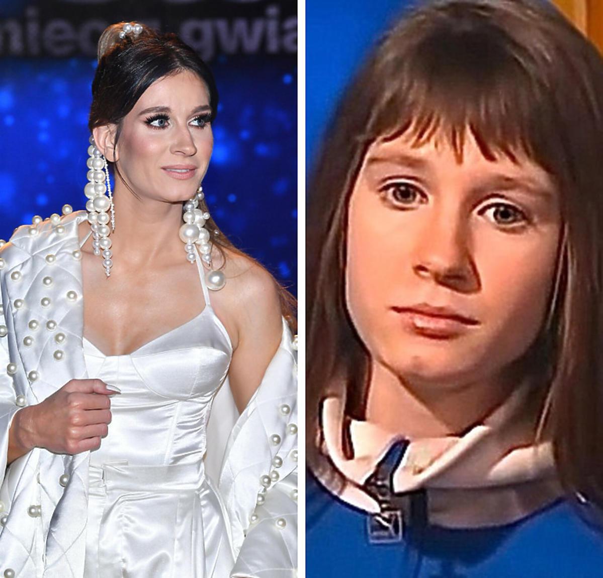 Sylwia Grzeszczak kiedyś i dziś