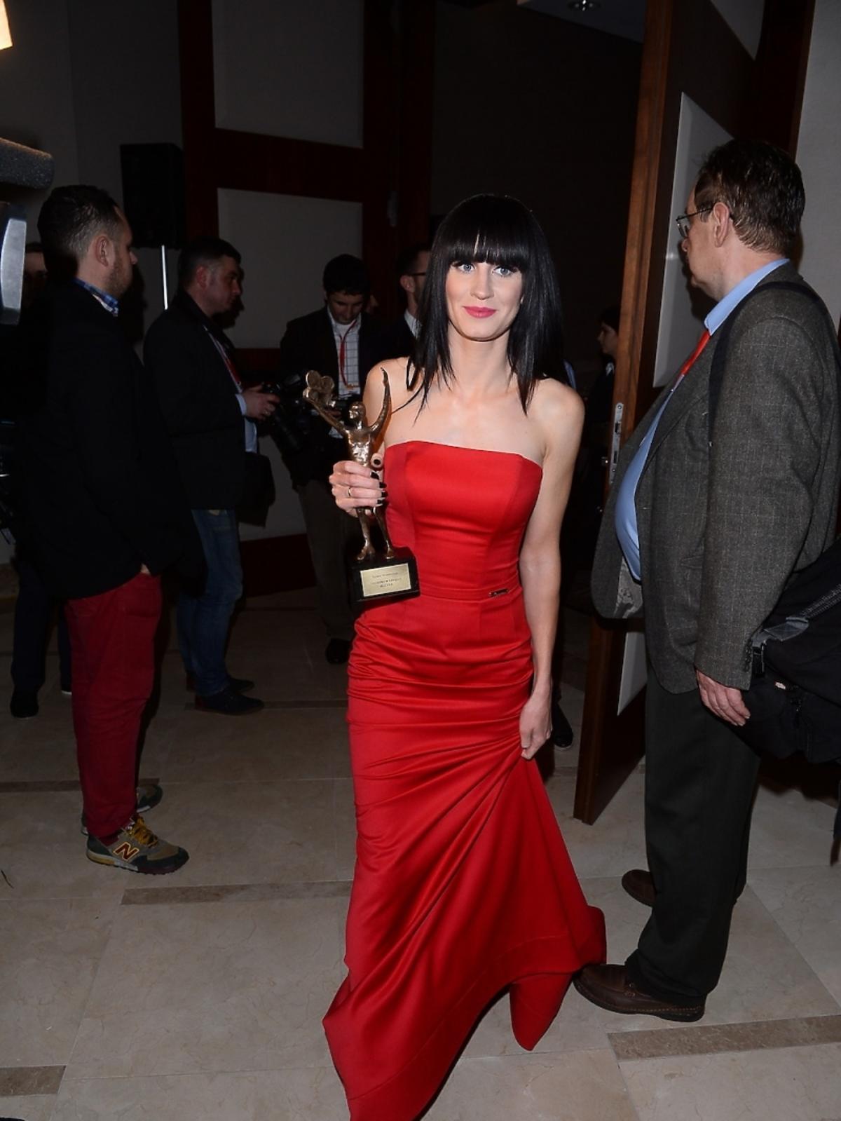 Sylwia Grzeszczak na gali TeleKamery 2015