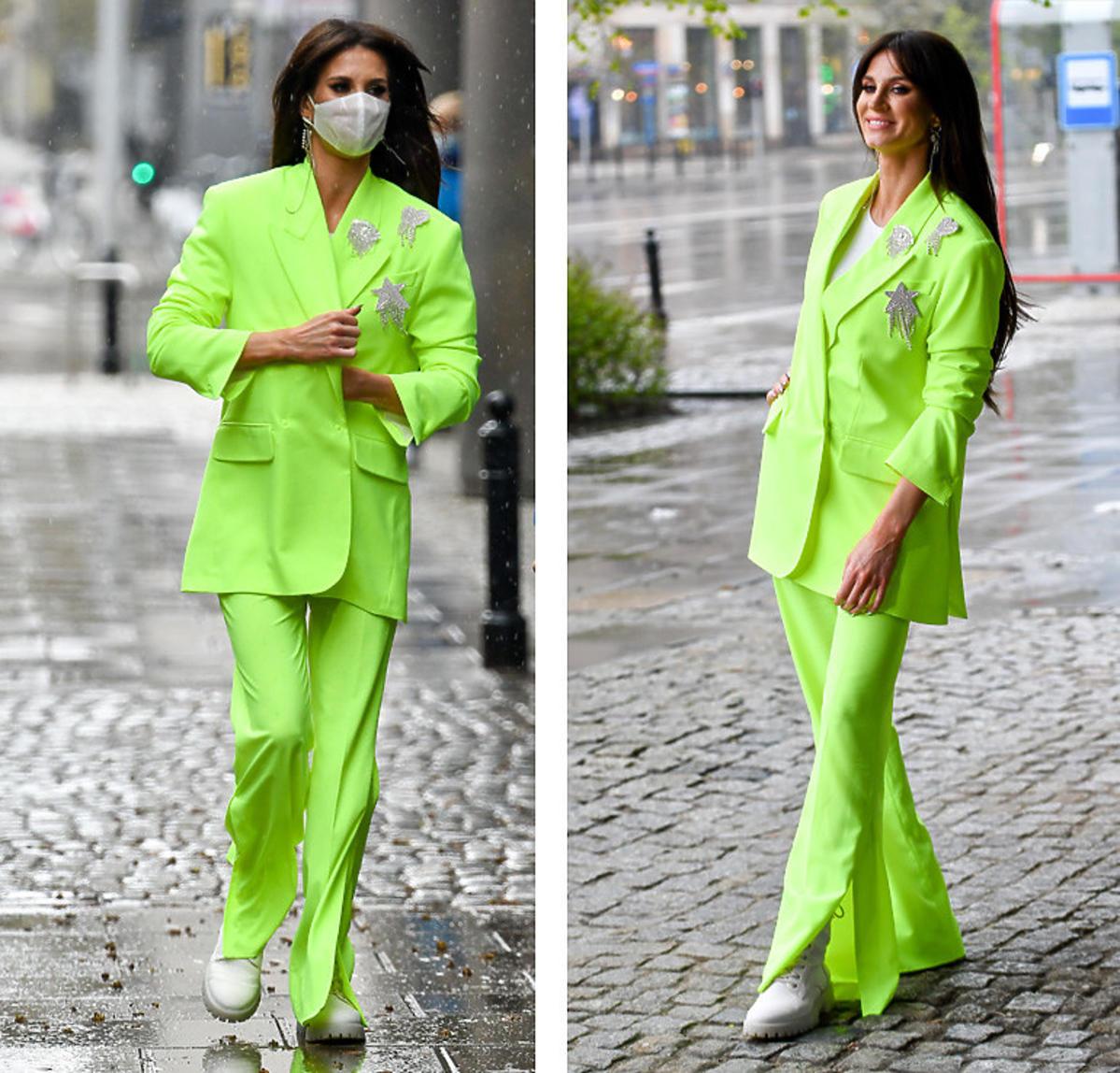 Sylwia Grzeszczak w modnych spodniach na wiosnę-lato 2021