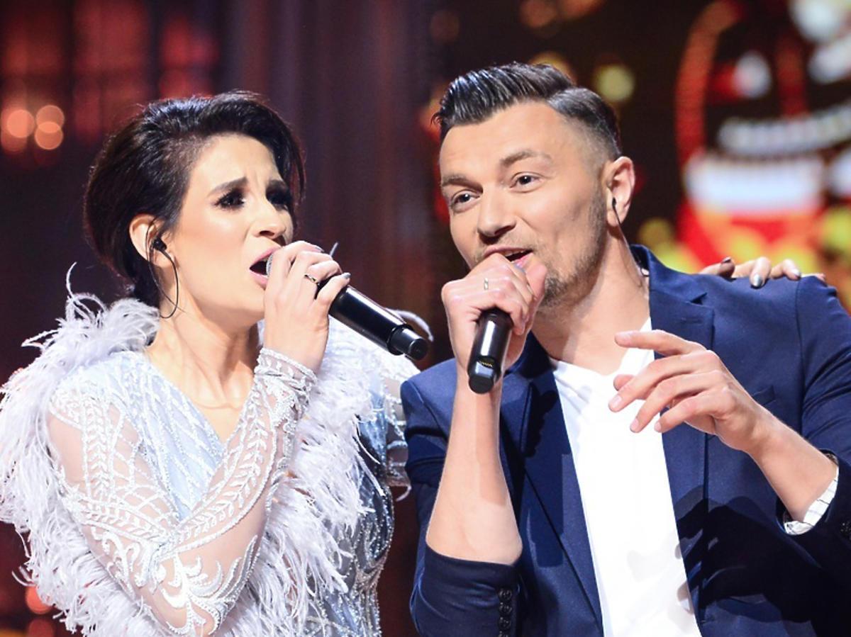Sylwia Grzeszczak z mężem, Liberem