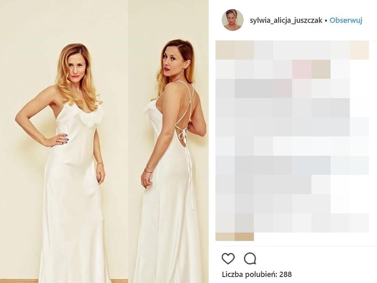 Sylwia Juszczak pokazała suknię ślubną