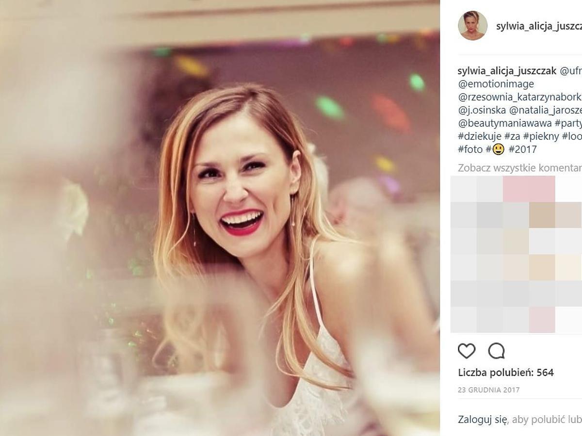 Sylwia Juszczak pokazała zdjęcie ze ślubu z Mikołajem Krawczykiem