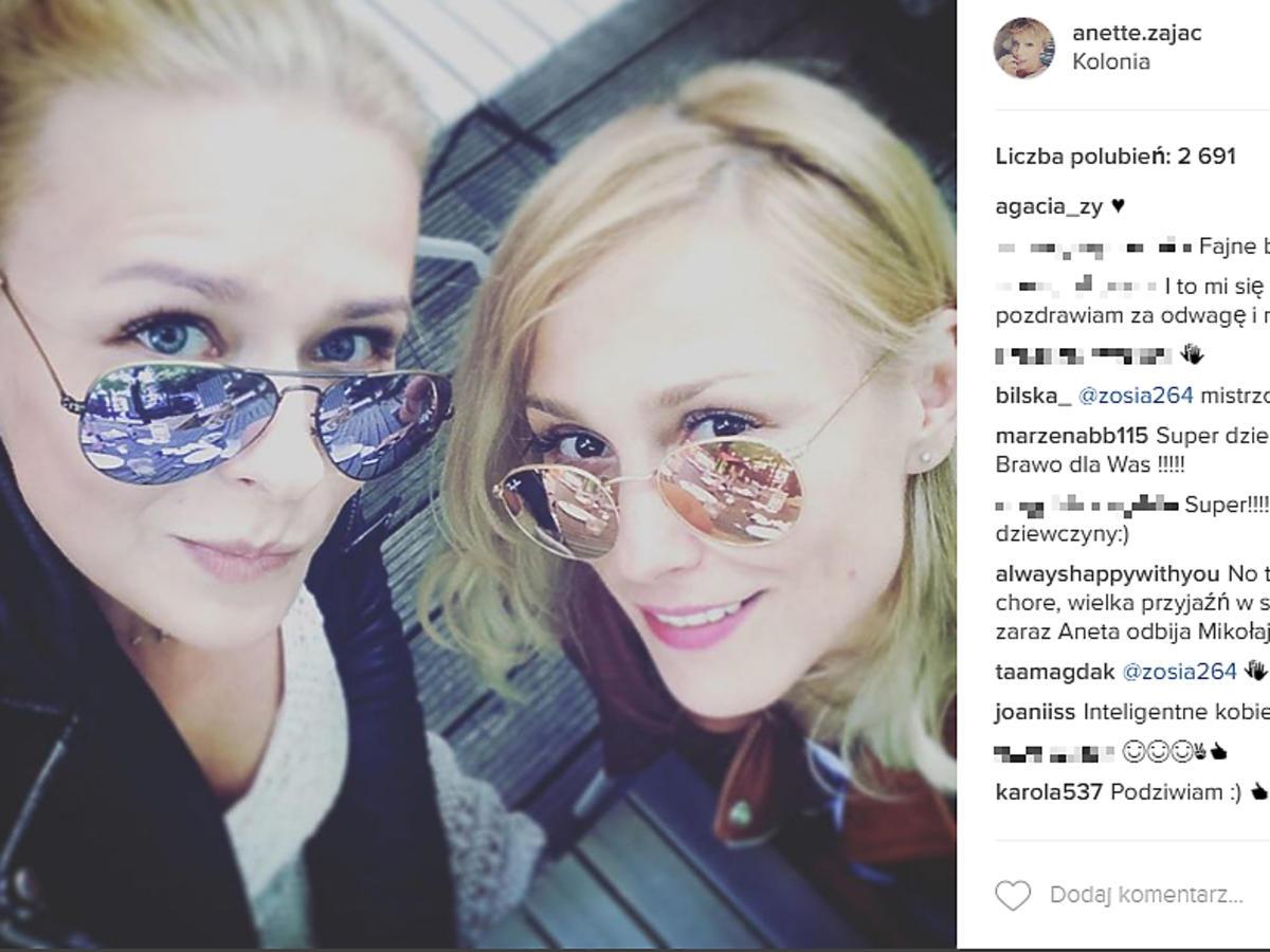 Sylwia Juszczak w okularach
