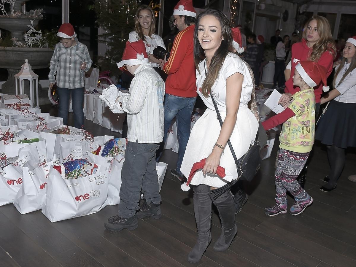 Sylwia Nowak na imprezie charytatywnej fundacji One Day