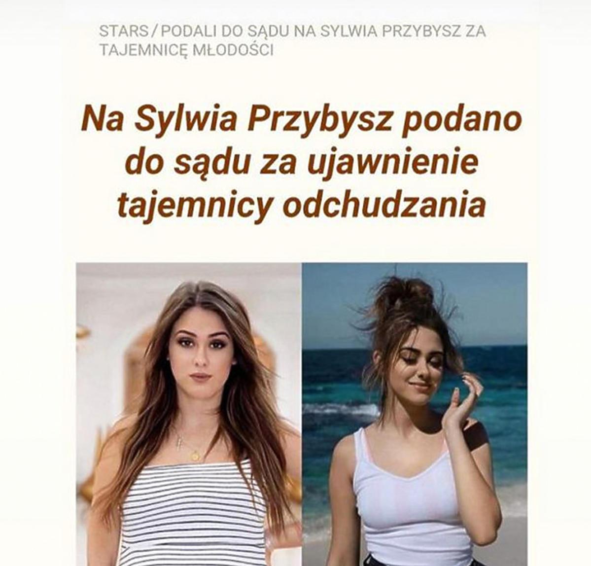 Sylwia Przybysz padła ofiara oszusta: