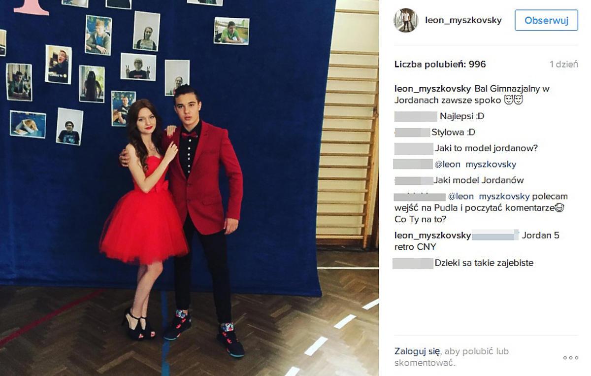 Syn Justyny Steczkowskiej, Leon Myszkowski, jest zakochany?