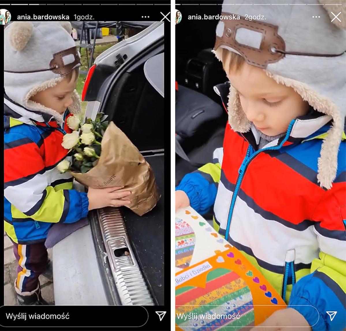 Synek Bardowskich uczcił dzień babci i dziadka