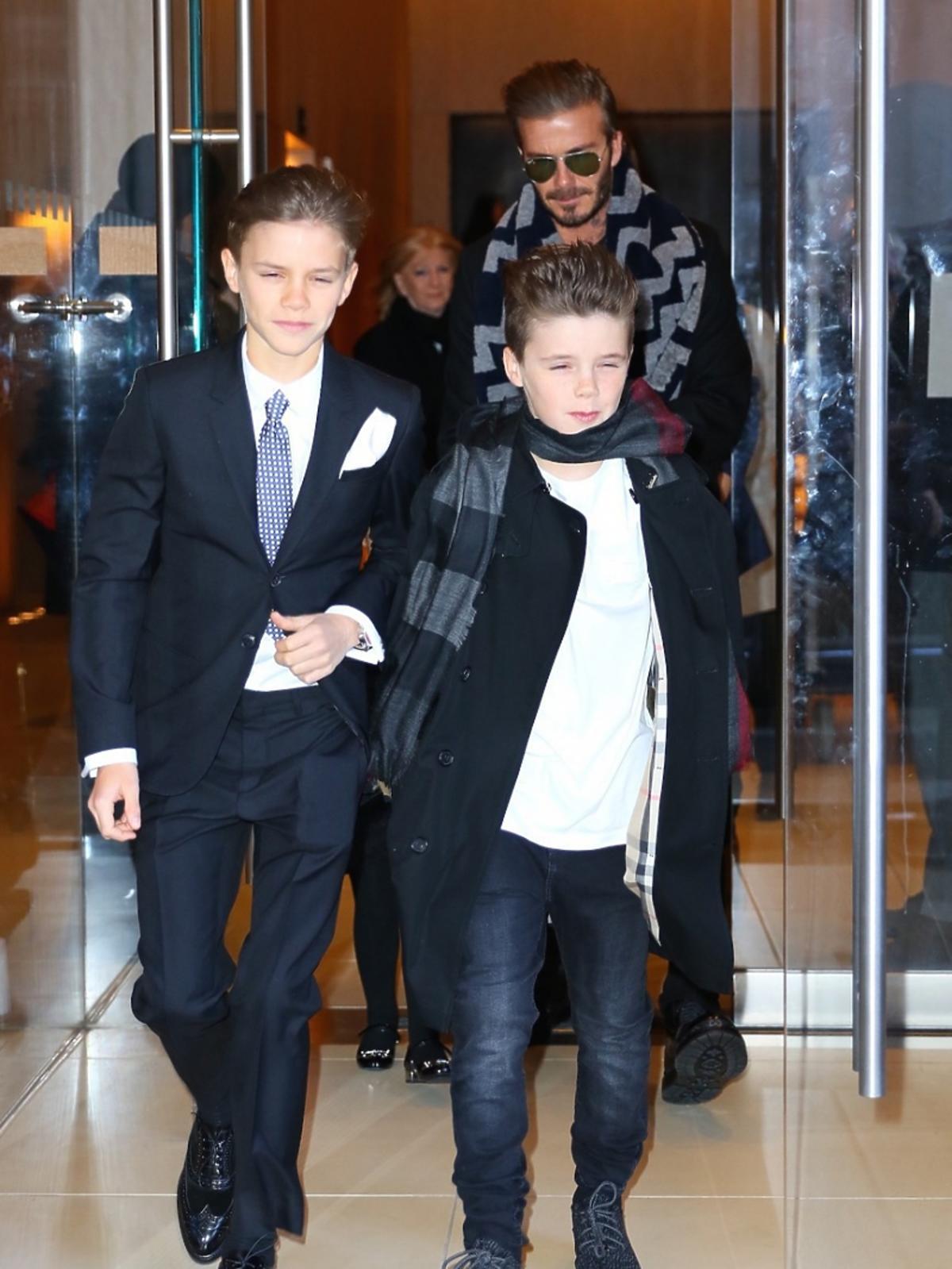 Synowie Davida Beckhama