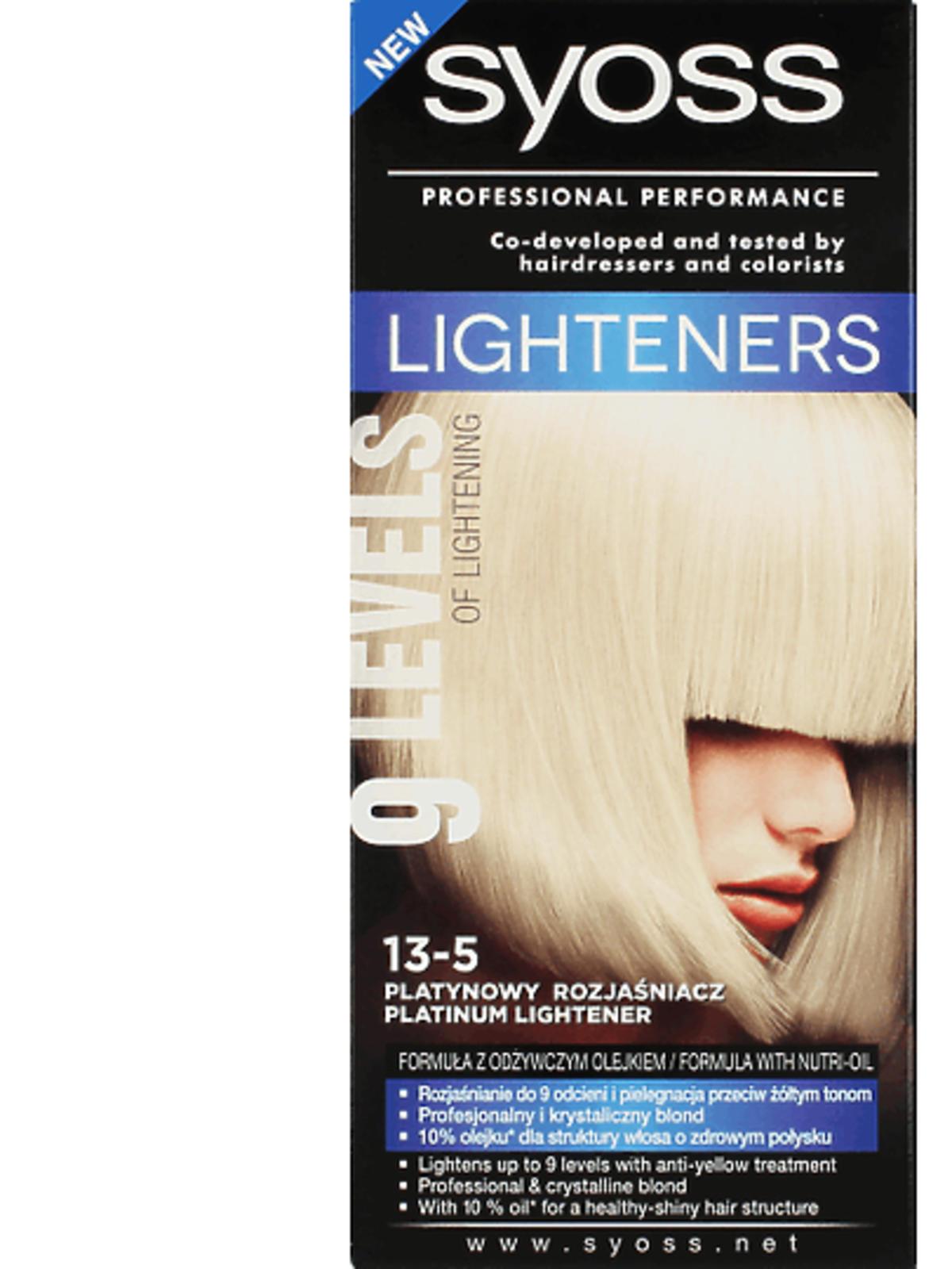 SYOSS, Lighteners, platynowy rozjaśniacz do włosów nr 13-5, 15,99 zł