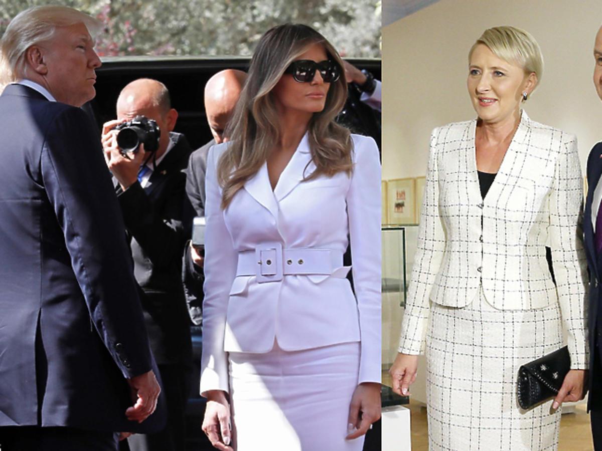 Szczegóły spotkania Agaty Dudy i Melanii Trump