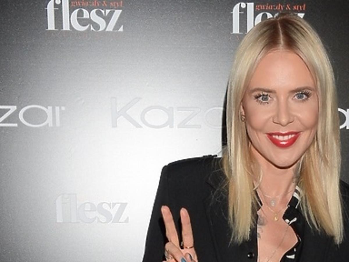 Szczupła Maja Sablewska na Flesz Fashion Night! Zachwyciła w czarnej stylizacji! Ale DEKOLT!
