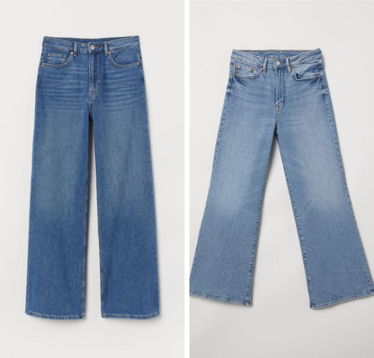 Szerokie jeansy H&M cena 59 zł