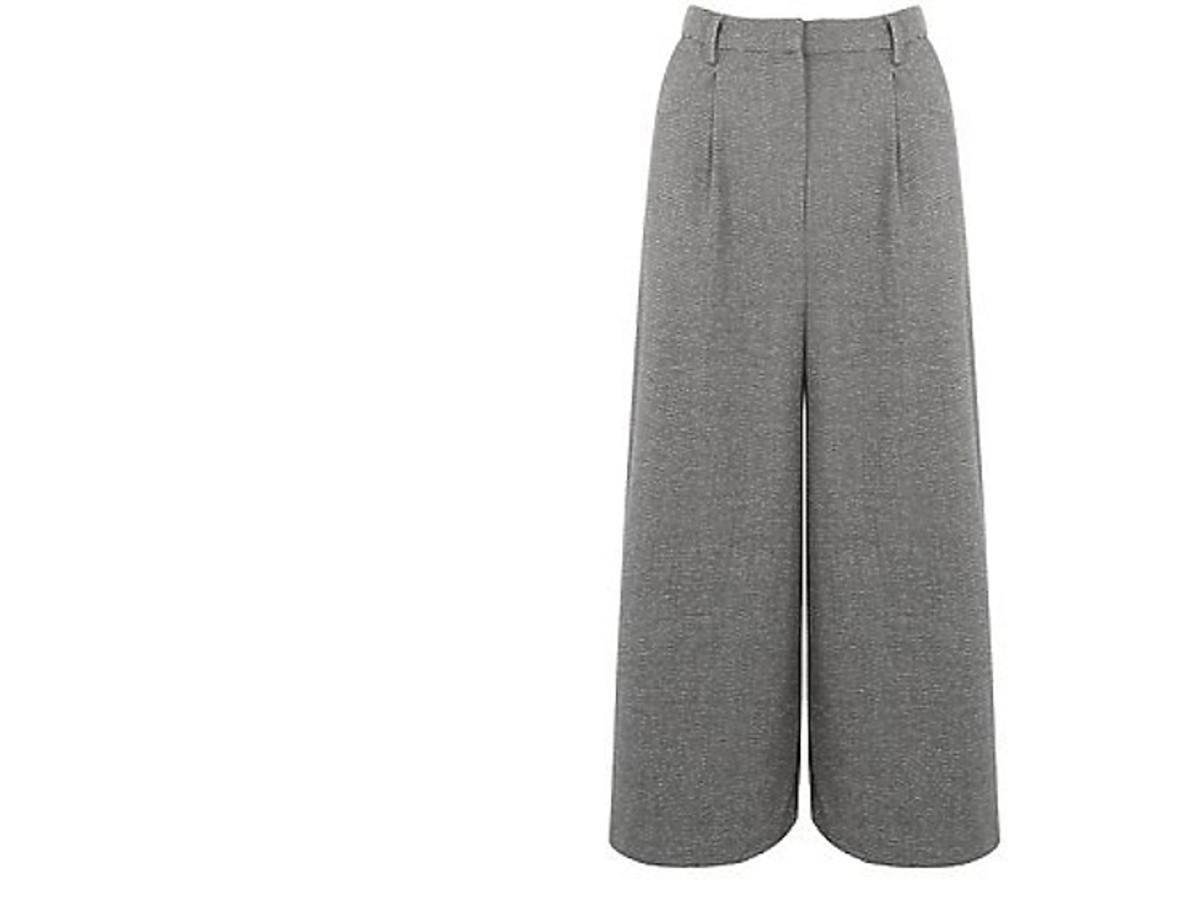 Szerokie spodnie typu culottes New Look, ok. 30 zł (było: 99 zł)