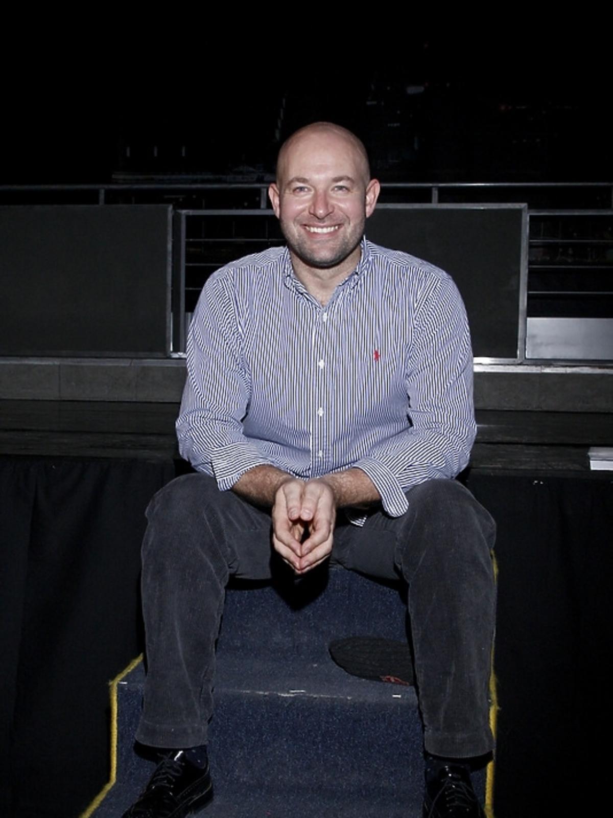 Szymon Bobrowski na premierze spektaklu