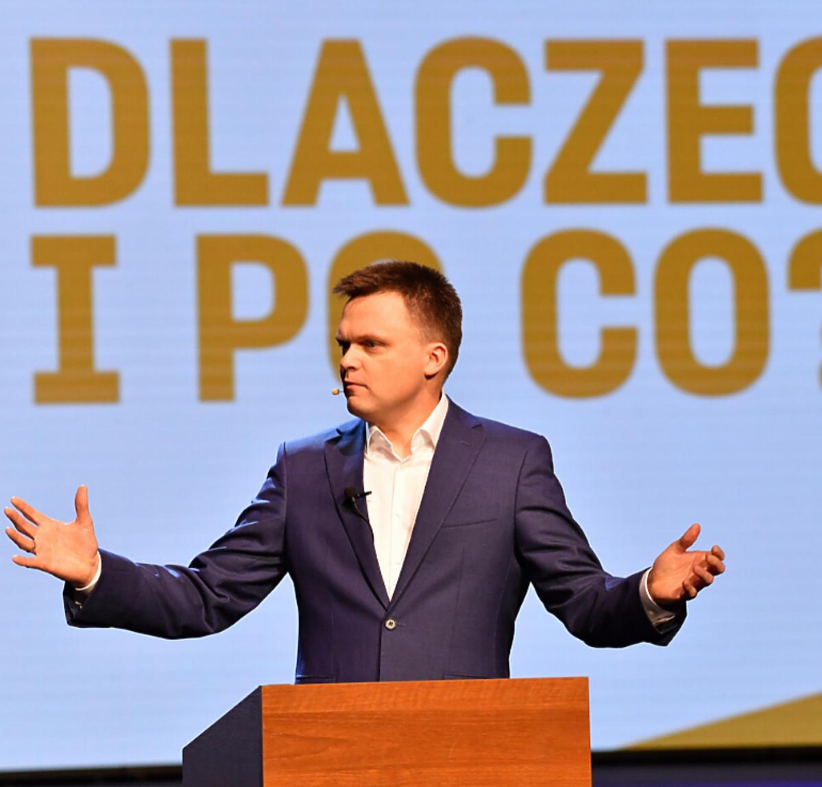 Szymon Hołownia startuje w wyborach na prezydenta