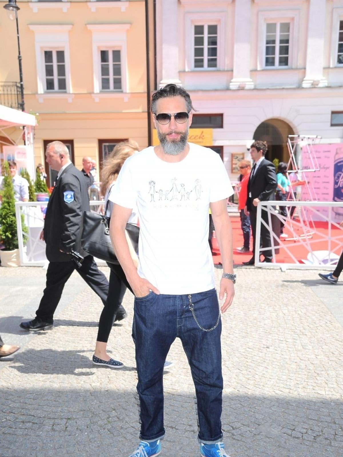 Szymon Majewski na Street Fashion