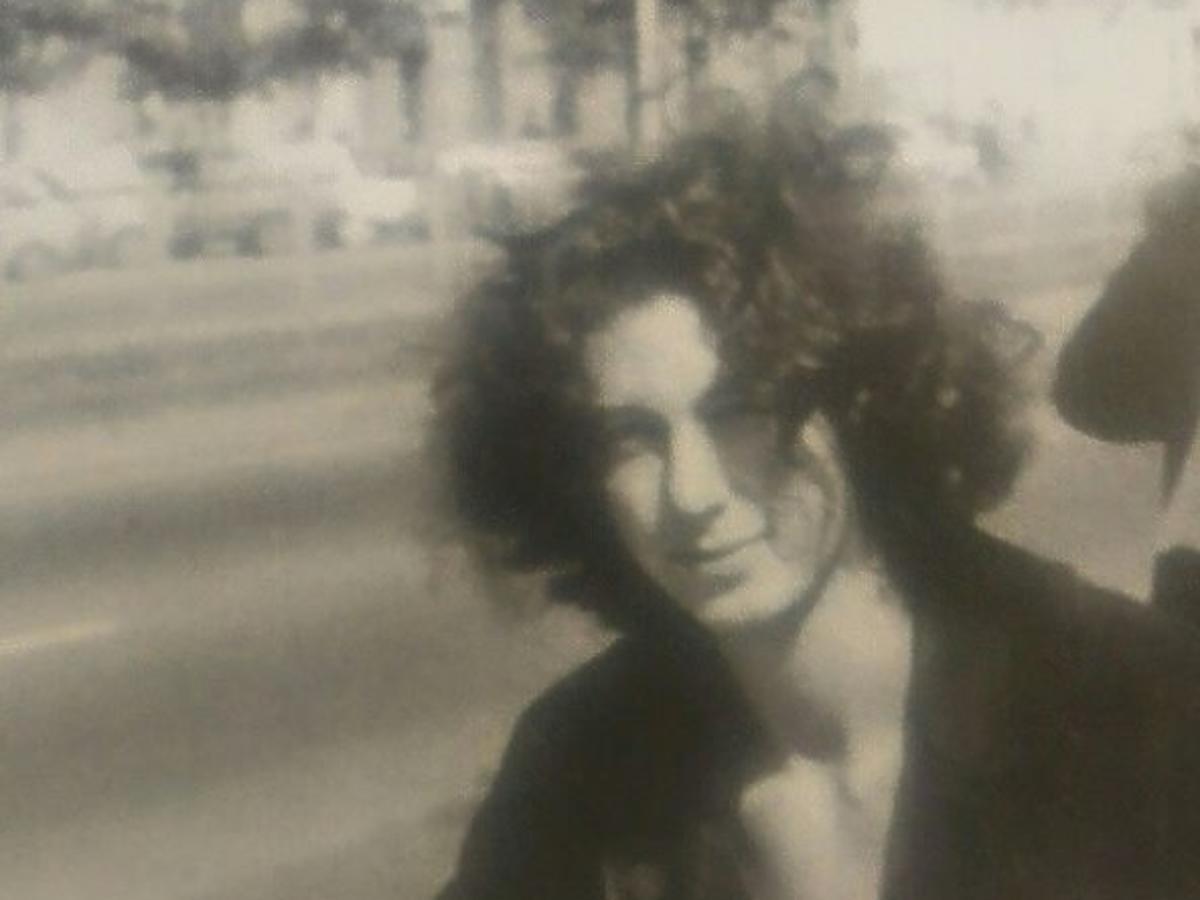 Szymon Majewski w młodości