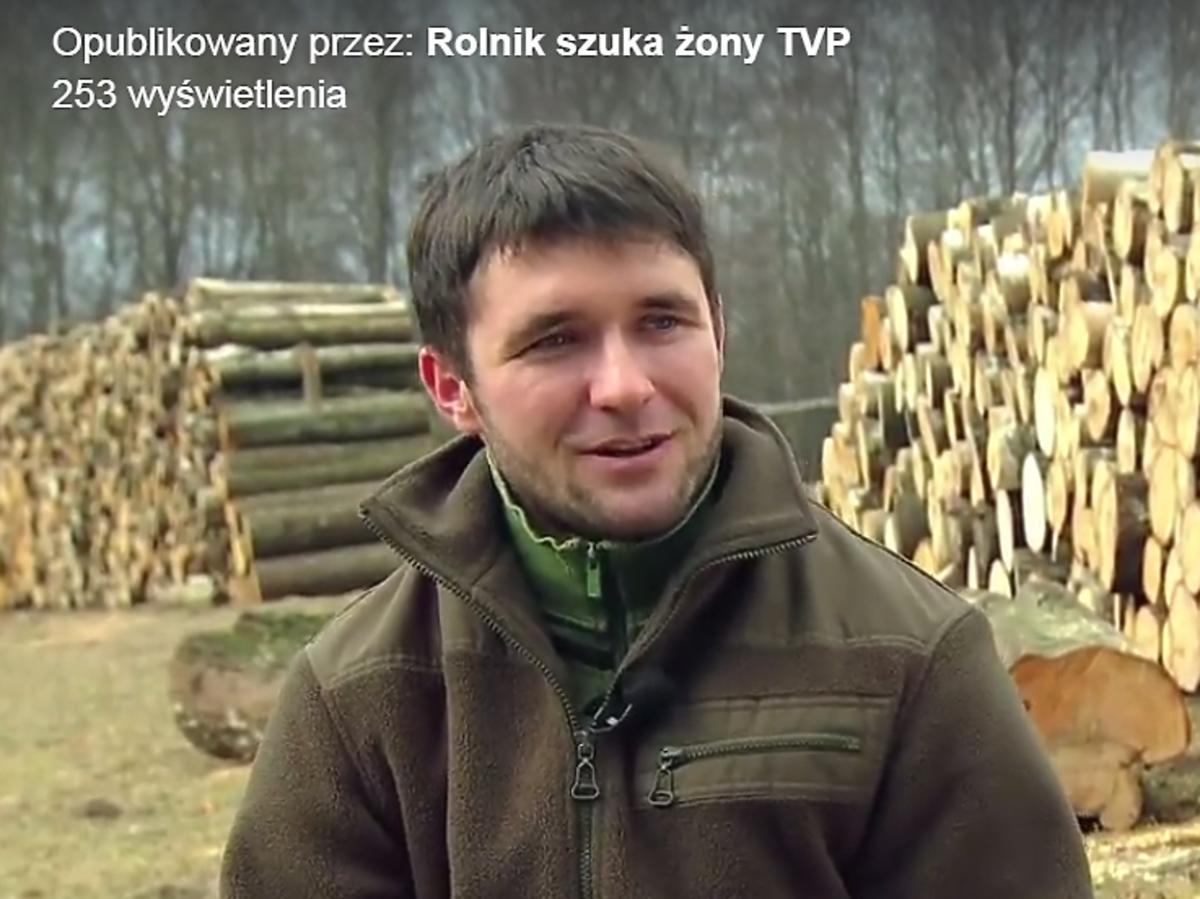 Szymon - uczestnik trzeciej edycji Rolnik szuka żony