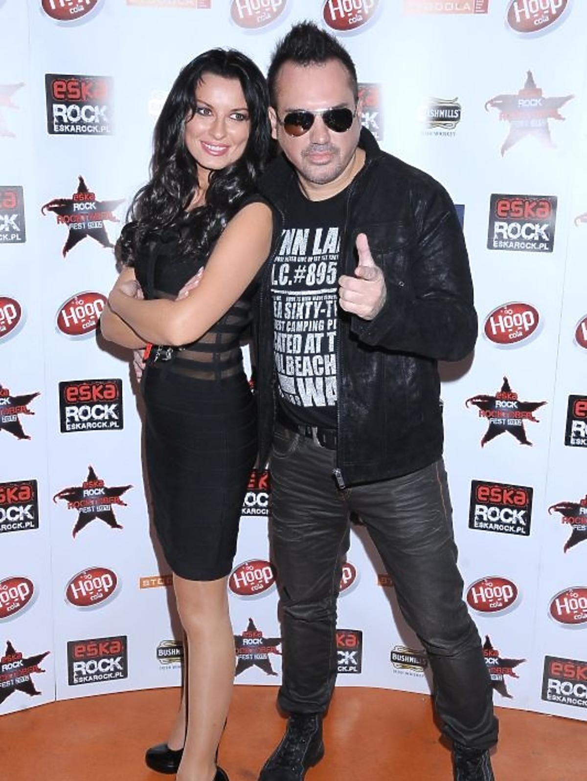 Szymon Wydra na urodzinach radia Eska Rock