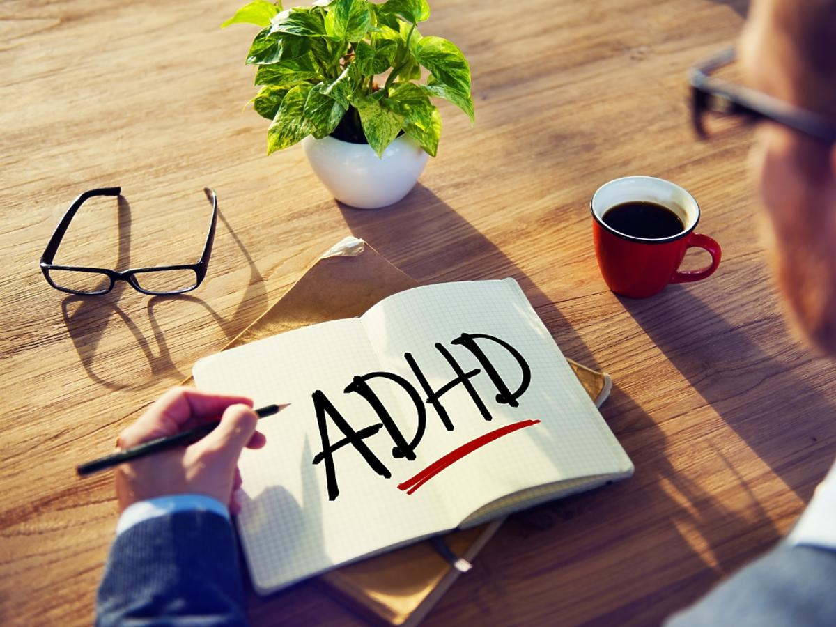 Tabliczka z napisem ADHD