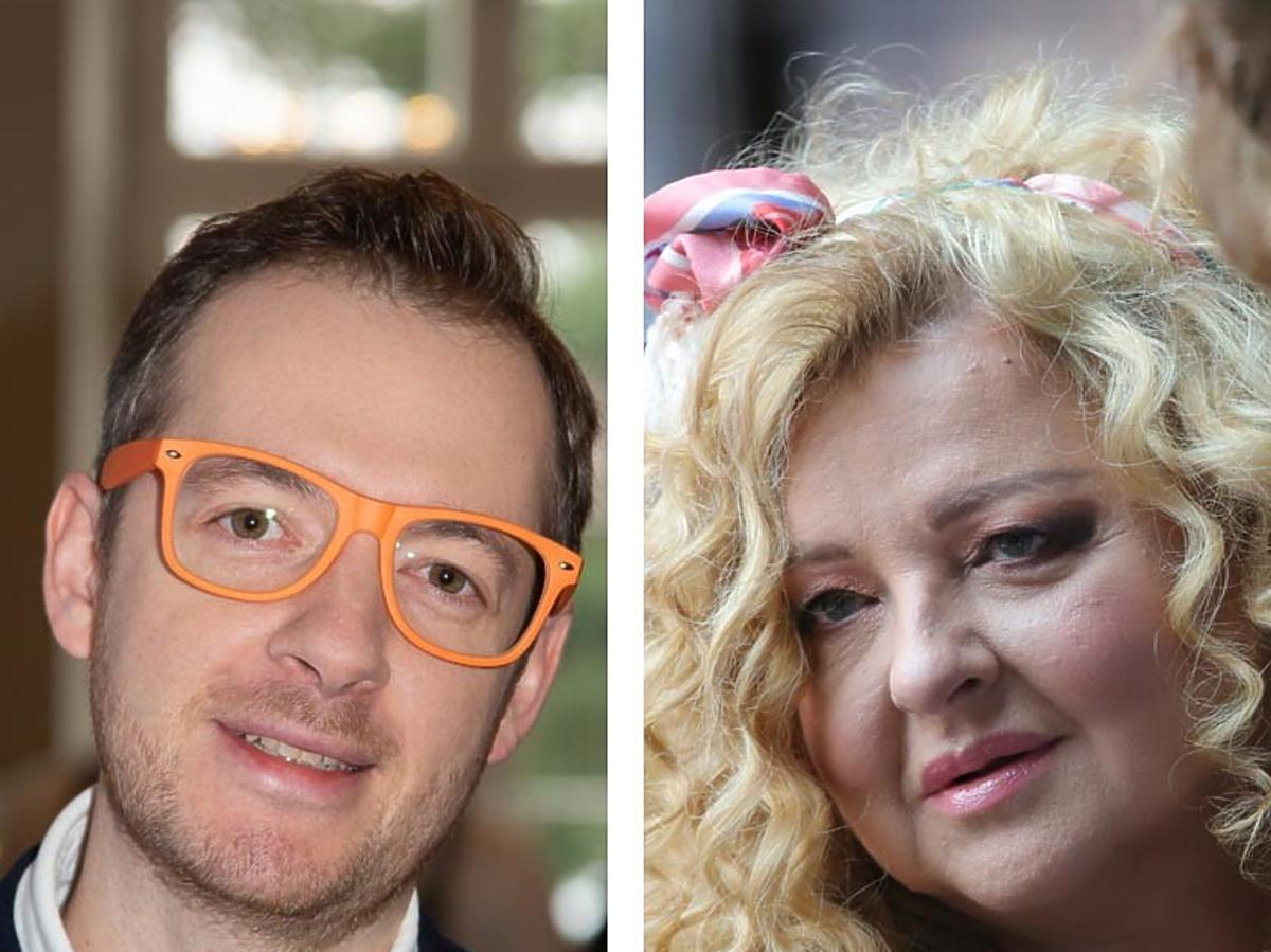 Tadeusz Müller i Magda Gessler