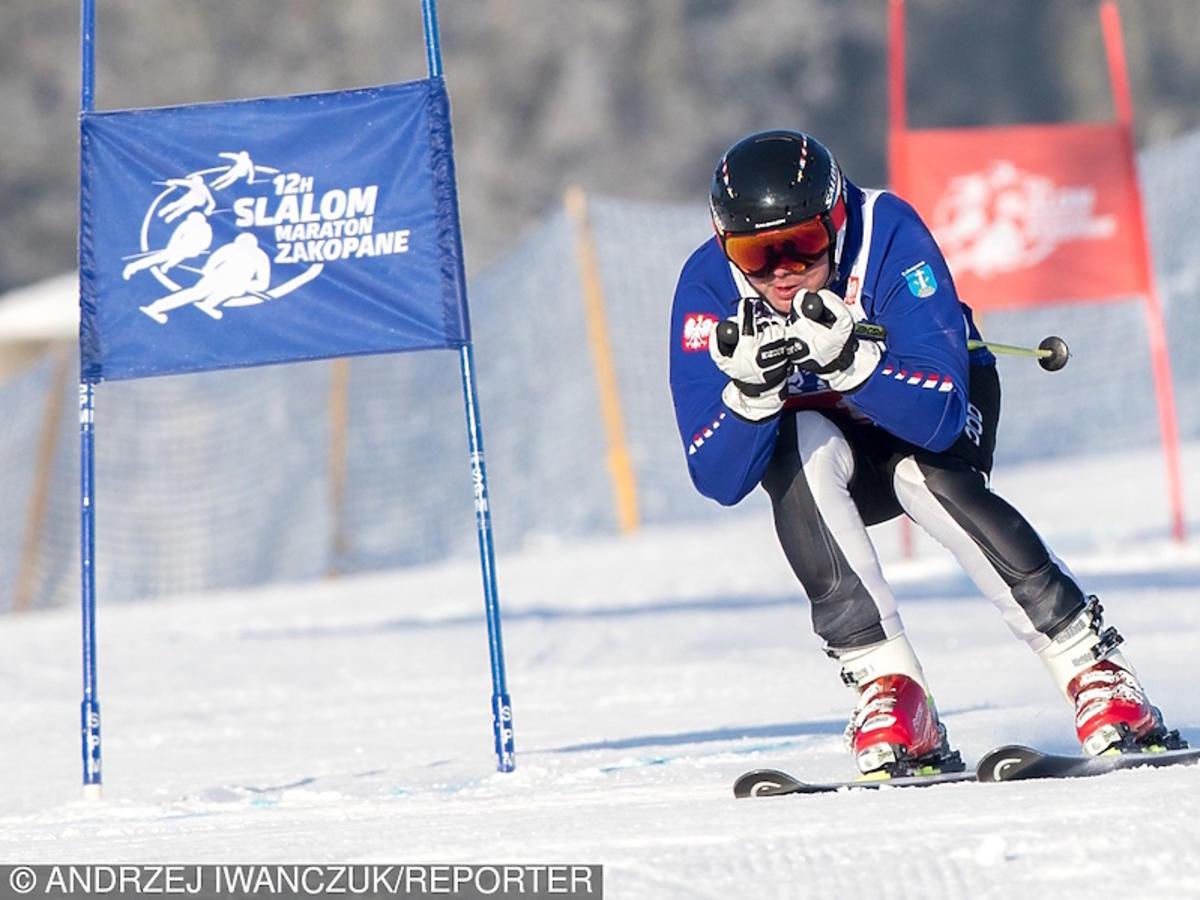 Tak Andrzej Duda jeździ na nartach w Zakopanem