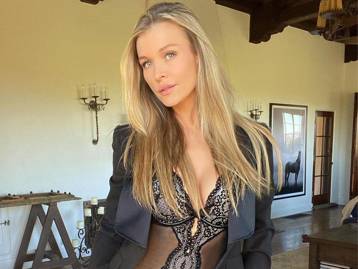 """Tak mieszka Joanna Krupa. Klimatyczne patio, ogromy basen... Hollywoodzki szyk gwiazdy """"Top Model"""" robi wrażenie"""