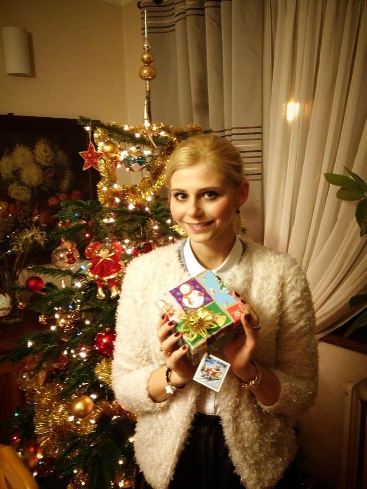 Tak święta Bożego Narodzenia spędza Izabela Zwierzyńska