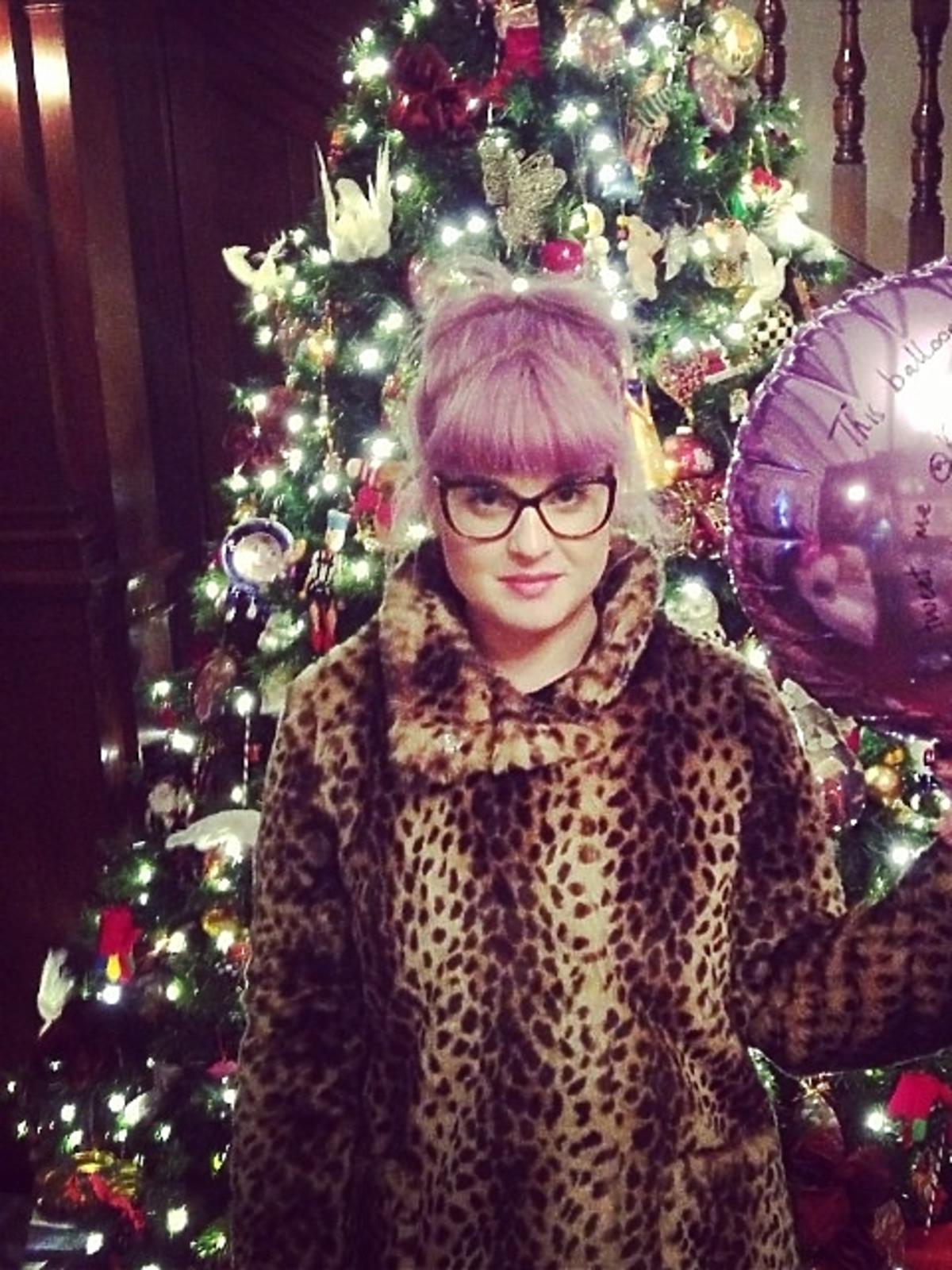 Tak święta Bożego Narodzenia spędza Kelly Osbourne