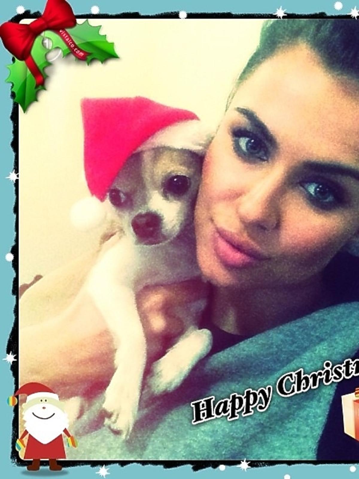 Tak święta Bożego Narodzenia spędza Natalia Siwiec